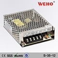 Factory outlet 35w single output switch mode 12v 3a ac/dc switching power supply