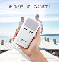 Fist newest portable power bank 4800mah with bluetooth speaker combo wireless, with FM radio, built in antenna