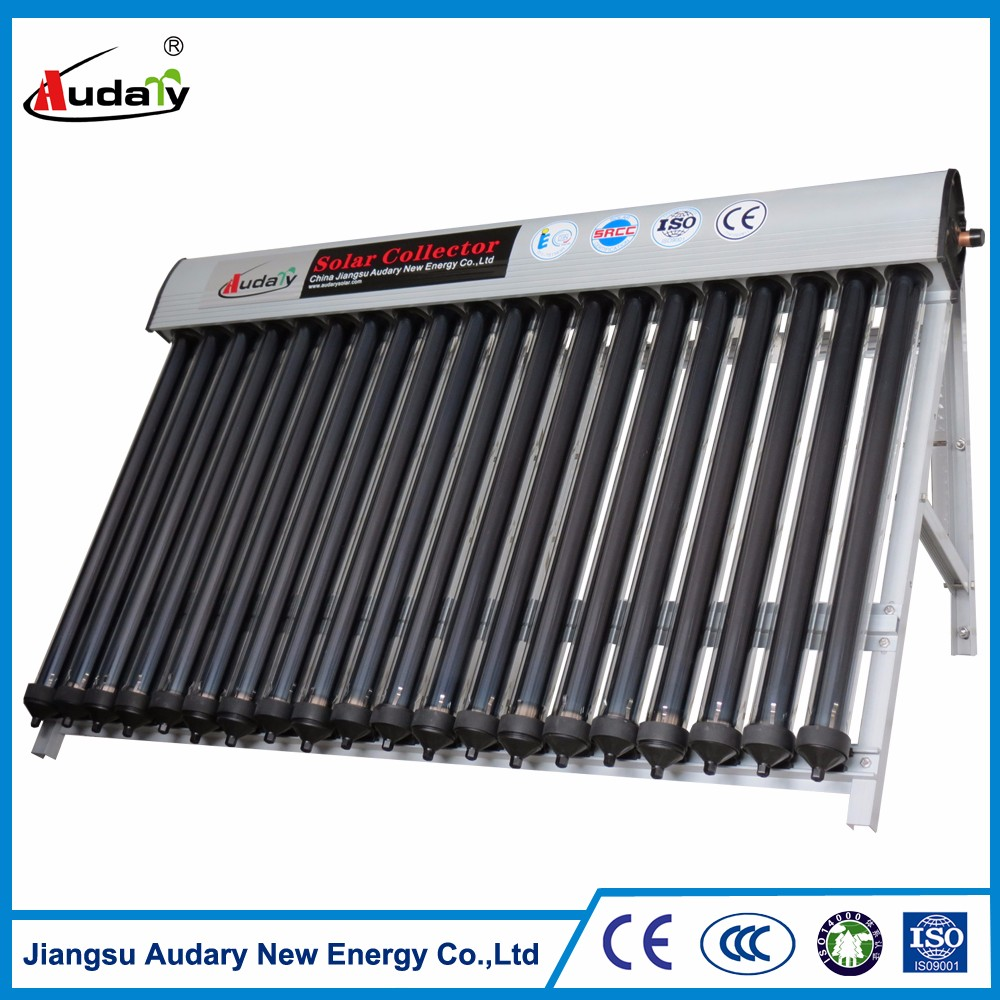 Copper Oil Exchanger Separate Pressurized Solar Water Heater