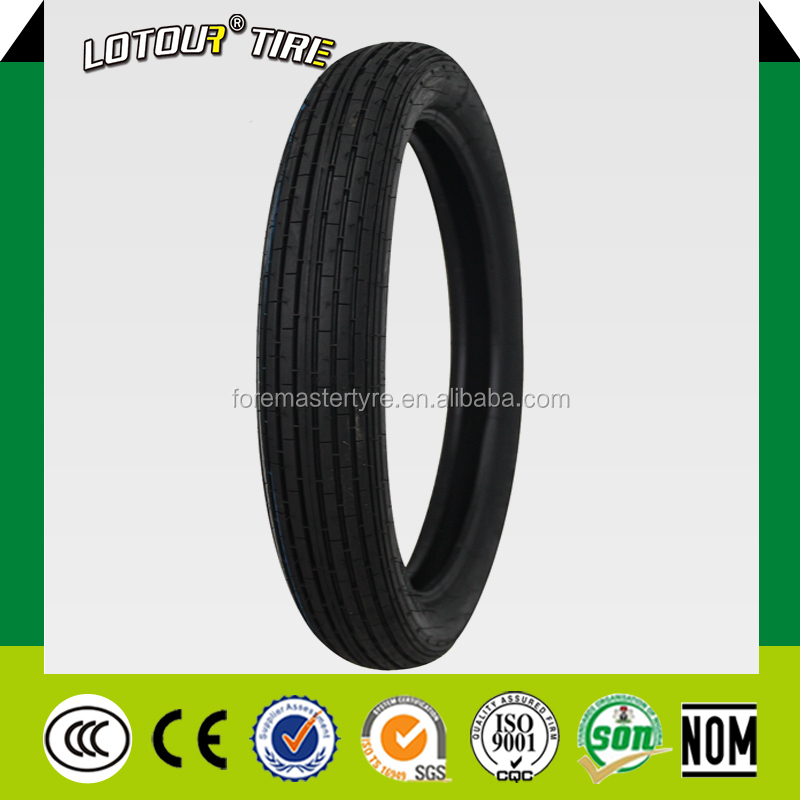 2.75-18 Chinese Tires Brands Lotour brand Motorcycle Tyre With Rubber Inner Tube