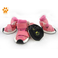 JML new arrival winter dog boots in pink pet products dog & puppy paw protection shoes