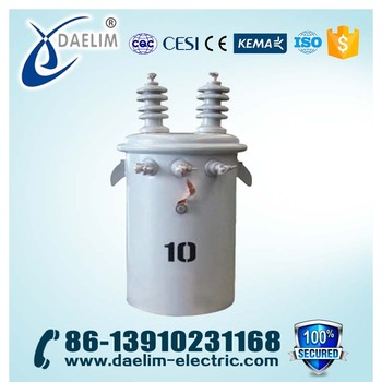 10kv 63kva Single Phase Pad Mounted Transformer from Manufacture