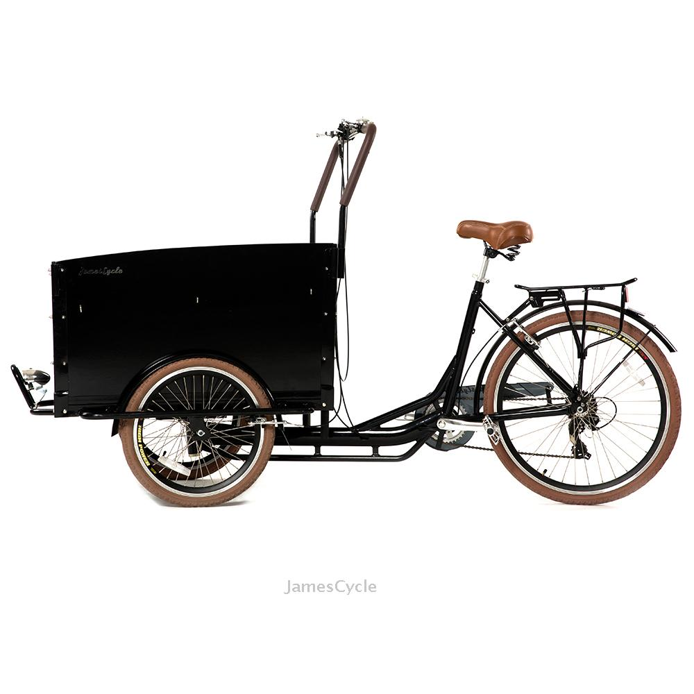 Cheap moto van cargo tricycle with cabin closed Ice Cream coffee Bike Trailer With 34 years Experience in metal fabrication