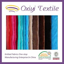 African velvet Hoting selling Knitting Custom100% polyester Double side Dying flannel fabric