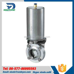 0bar~0bar, 0MPa-1.0MPa Pneumatic Air Operated butterfly check valve
