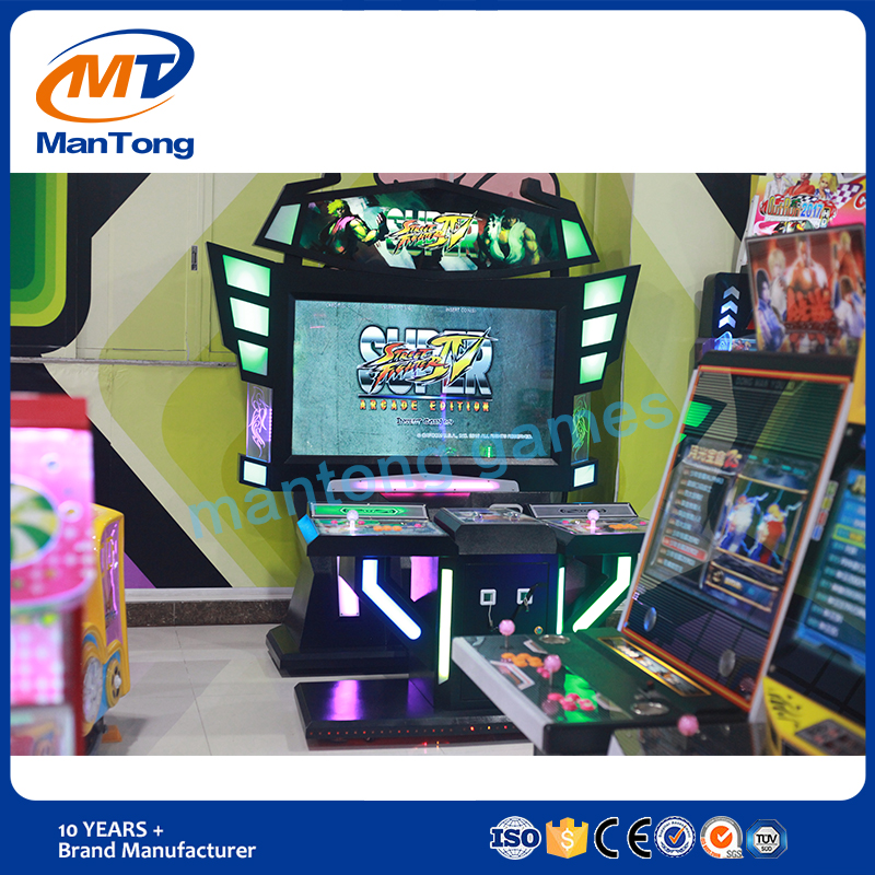 Brand manufacturer Mantong luxury arcade game machine street fighter game