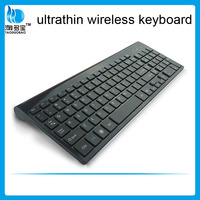 top grade wireless keyboard OEM/ODM flat Keyboard multimedia chocolate slim keyboard