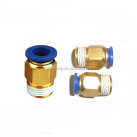 Brass body quick joint fittings sealing plugs