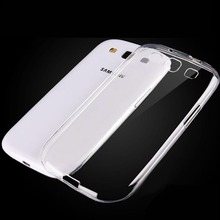 Clear Transparent Soft TPU Silicon Silicone Rubber Phone Bags Cases for Samsung Galaxy S3 mini