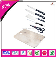hot new product stainless steel butcher knife with chopping block