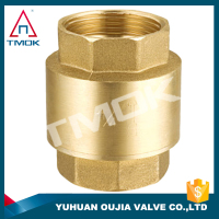 sandwich check valve cw617n and blasting motorize NPT threaded connection high quality manual power