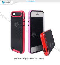 Factory price colour pc and tpu combo bulk case for iphone 5