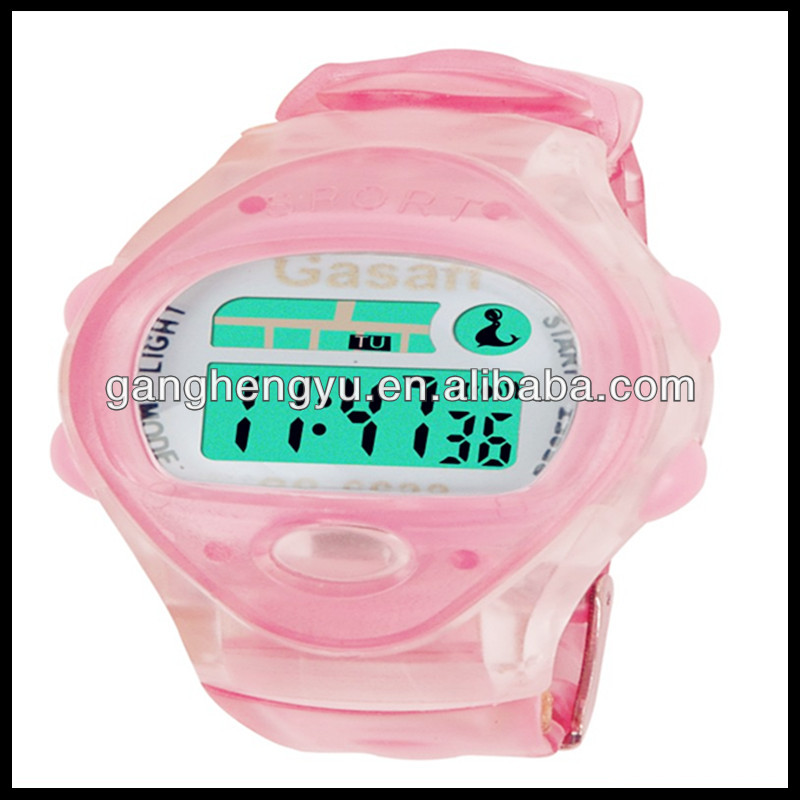 promotional plastic watch & thermo clock & led digital clock