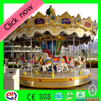 Super Fun!!! Kiddie colorful park carousel horse rides for sale