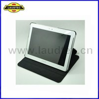for Samsung Galaxy Tab 2 10.1 P5100 Black Leather Stand Flip Case