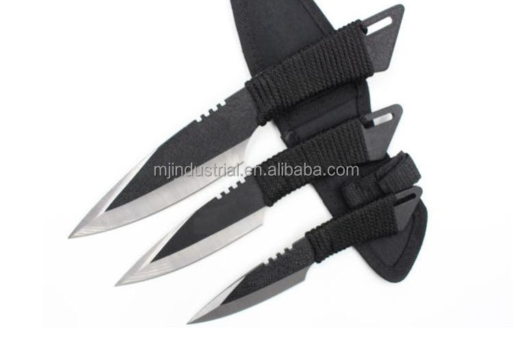 3pc-set outdoor survival <strong>knives</strong>, hunting <strong>knife</strong>, dive <strong>knife</strong> - DK02