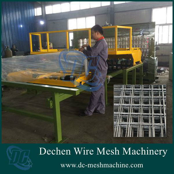 Anping Pneumatic Reinforcing Bar Wire Mesh Welding Machine/Reinforcing Bar Making Machine(factory price)