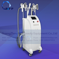 Multipolar rf cavitation slimming cool tech fat freezing machine