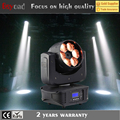 China 6 * 4in1 rgbw 15w led beam moving head light stage lighting simulator