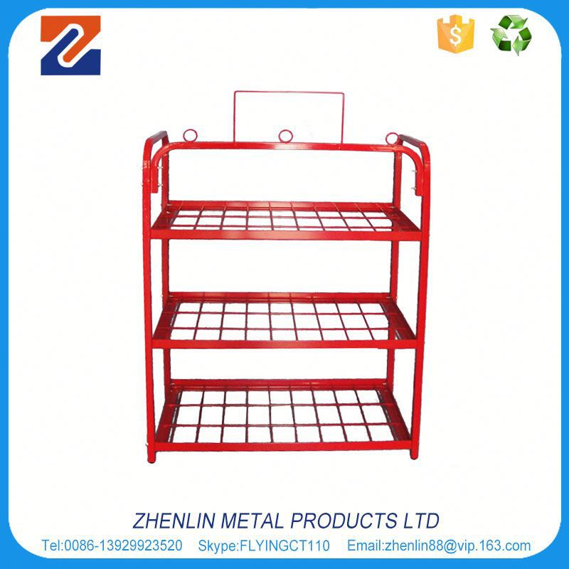 2017 Alibaba china the battery store display shelf with high quality