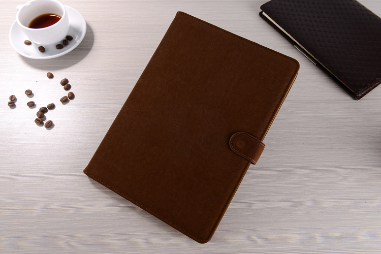 Christmas Sales PU Leather Cover With Card Slots For iPad Air 2 Flip Stand Protective Cases