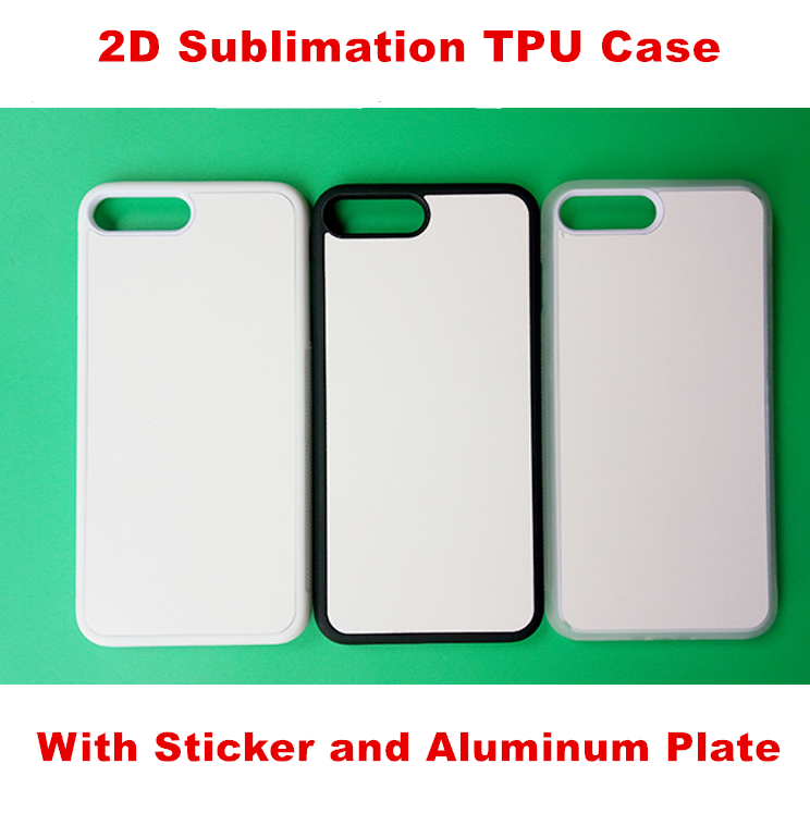 Whole Clear 2D 3D Sublimation Blank TPU Soft Phone Case Cover For iPhone 6