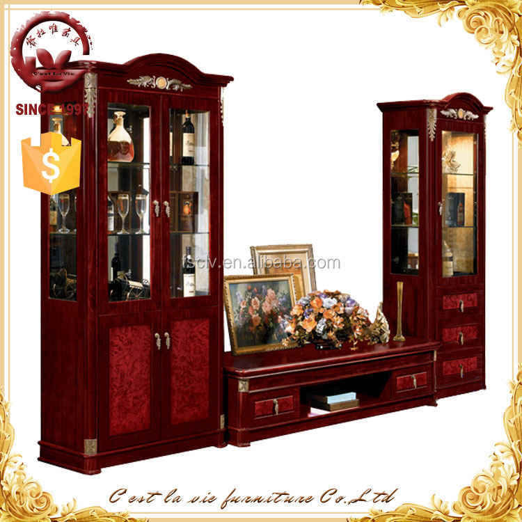 living room designs wood display tv cabinet modern with showcase buy