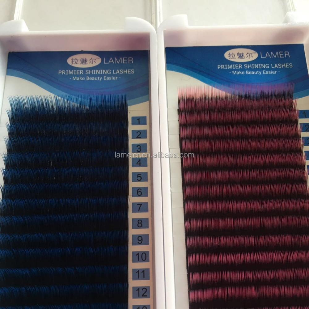 korean individual synthetic belle mink fur eyelash extention