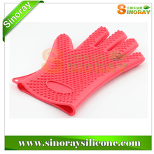 New Design Silicone Waterproof Heat Resistant Gloves