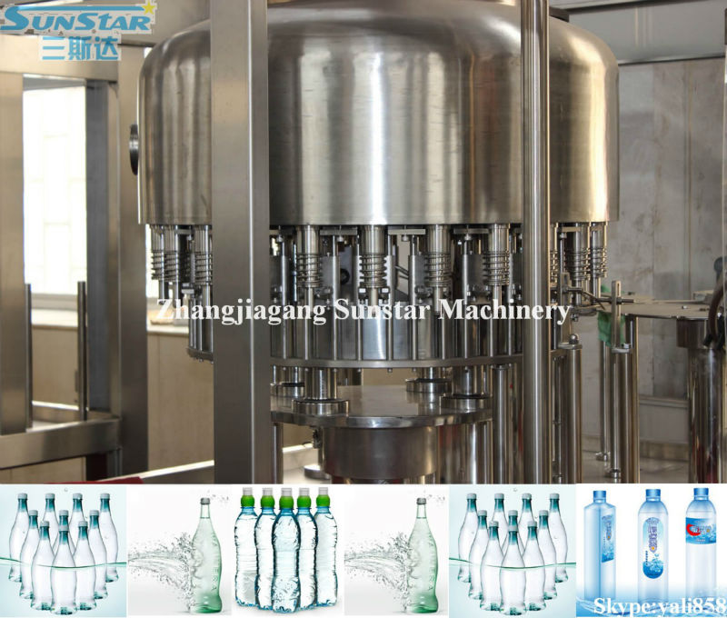 Mountain Spring Water Bottle Filling And Capping Machine