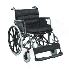 HB951B-56 Pneumatic mag wheel wide seat steel wheelchair