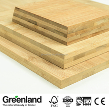Factory cheap high quality E1 grade bamboo board for furniture indoor decorative panel