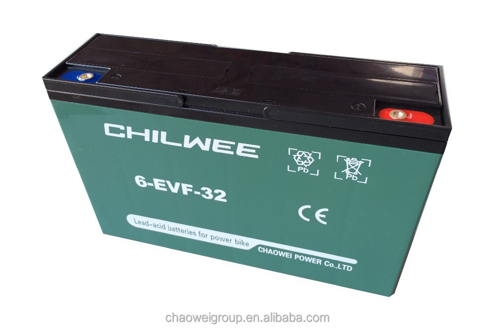 EVF Series VRLA Gel Battery for Electric Vehicles, 12V 38Ah at 20hr rate