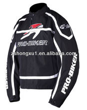 black motorcycle jacket 100% polyester Motorcycle Jacket