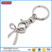 Guangdong Panyu factory butterfly keychain, metal keychain cheap price wholesale
