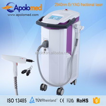 Apolomed 2940nm ER YAG Fractional laser ablation machine