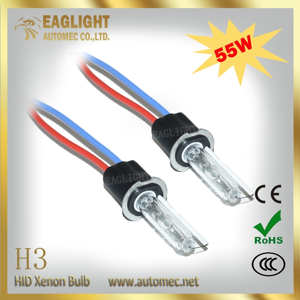 China low price products H3 55W 3500LM universal motorcycle hid headlights