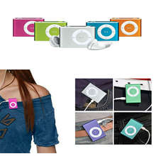 Retro Hot Mini Clip MP3 Player With Micro TF SD Card Slot Sports Music MP3 Player Non LCD Without Screen