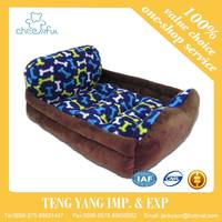 Hot selling luxury warm floor mat rectangle dog bed