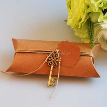 Vintage style Kraft paper sweets packaging boxes best price hot selling