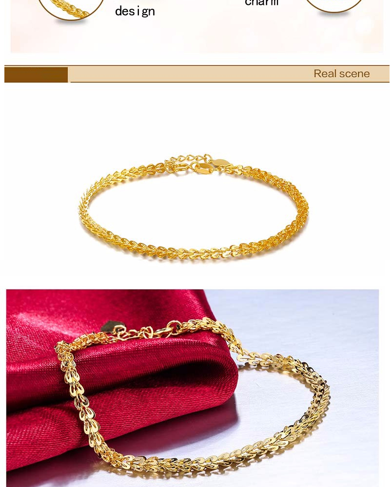 gold double knot expandable bracelet bangle sourcebeacon products