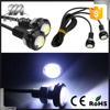 Super Bright 3W 18mm Eagle Eye Car Backup led Reverse Tail DRL Light