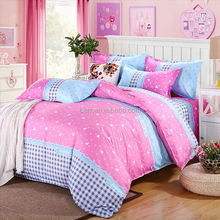 love High cost performance cotton fabric home sense bedding set
