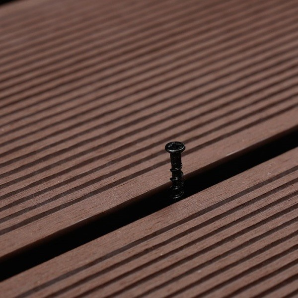 Factory price fire-resistant wood plastic composite flooring WPC decking