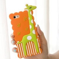 custom ecofriendly animal shaped cell-phone case