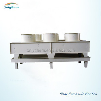 plate type condenser for cold storage