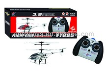 TT995 3CH rc metal helicopter with GYRO and usb charger cable for rc helicopter