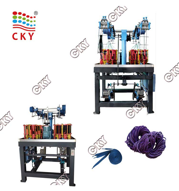 China supplier Computerized Lace Braiding Machines
