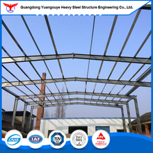 Large span prefab house kits steel structure lightweight steel frame warehouse for plant food factory