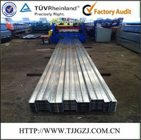 0.7-1.2mm YX51-225-678 opened type zinc coated steel floor decking/Metal corrugated floor decking